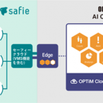 「OPTiM AI Camera」、「Safie」と連携